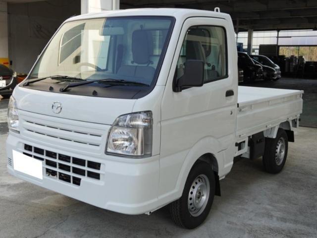 マツダ スクラムトラック KCエアコン・パワステ 新車 5速MT 三方開 4WD