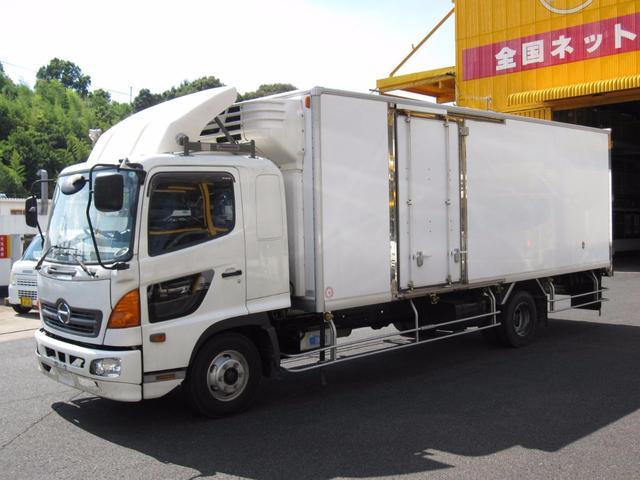 日野 4t 冷蔵冷凍車 横ドア付