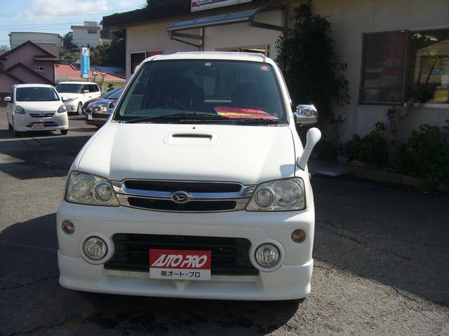 ダイハツ カスタムX 4WD ターボ キーレス CDオーディオ