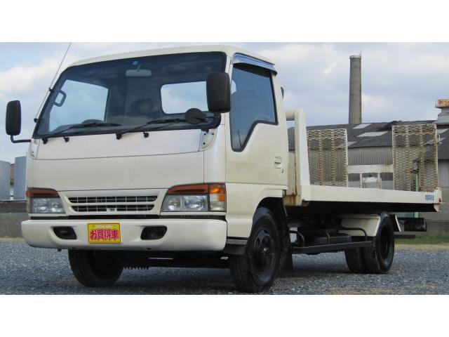 いすゞ 積載車 6MT CD AUX ラジコン ウィンチ付き