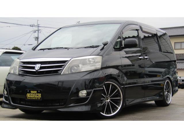 トヨタ MS 両側電動ドア 車高調 社外アルミ 4WD