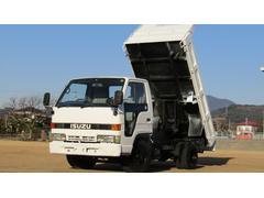 エルフトラックダンプ エアコン付 全塗装済み 5MT
