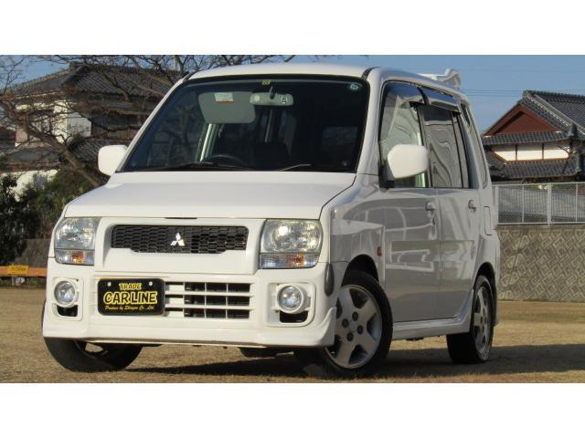 三菱 トッポBJ Z 純正エアロ アルミ 社外デッキCD AUX ...