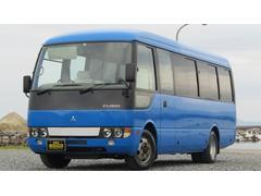 ローザマイクロバス 29人乗り ロング スイングドア HDDナビ