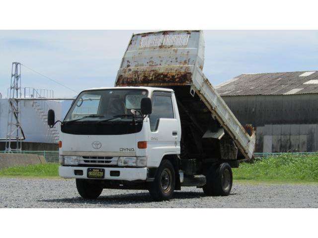 トヨタ 2tダンプ 低床 ブル掛け ETC