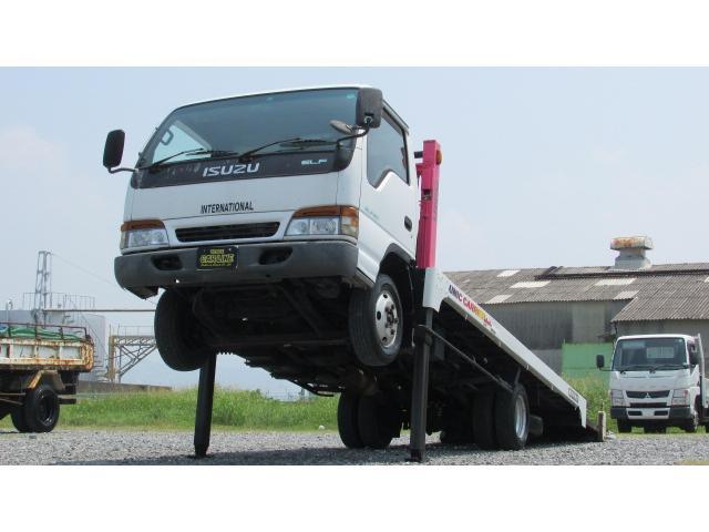 いすゞ 積載車 ハイジャッキ ラジコン ウィンチ付 ETC