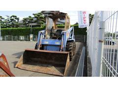 日本TCM ホイールローダー ボブキャット 607タイヤショベル