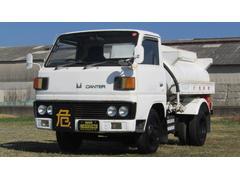 キャンター新明和製 タンクローリー車 コラムMT