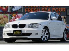 BMW118i 革シート サンルーフ 社外HDDナビCD DVD