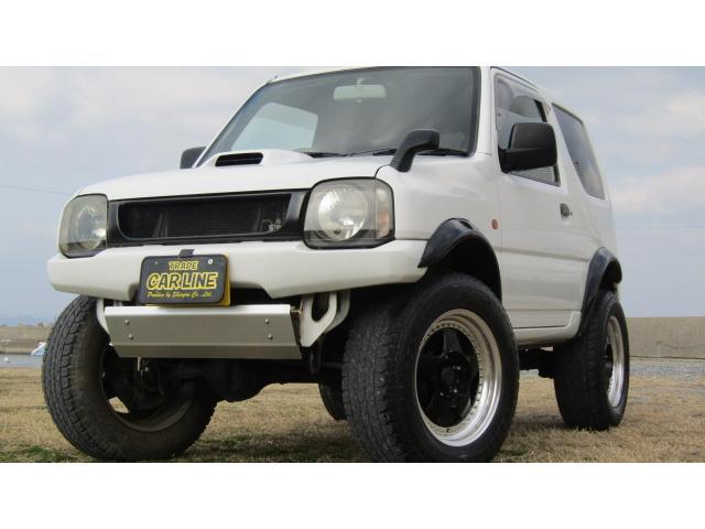 スズキ XG 4WD リフトアップ アルミ マフラー