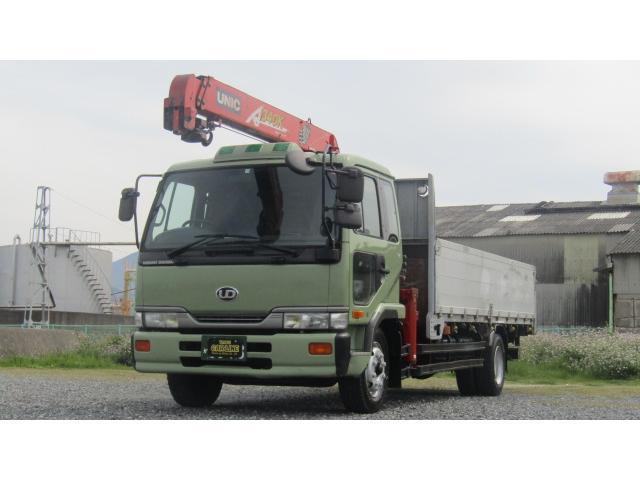 UDトラックス コンドル ベースグレード アルミブロックユニック3段 フックイン ラジコン ベッド 増トン 7000kg積載