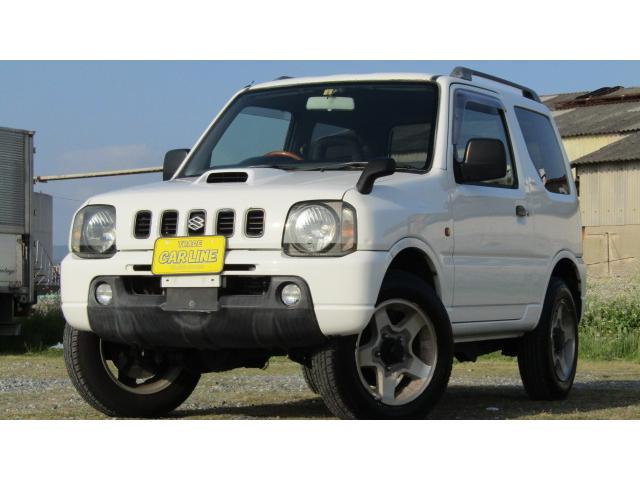 スズキ XC  4WD 社外デッキCD AUX ハンドル アルミ
