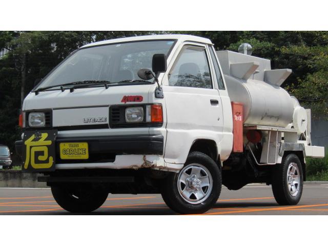 トヨタ ライトエーストラック  極東製タンクローリー  4WD 5MT