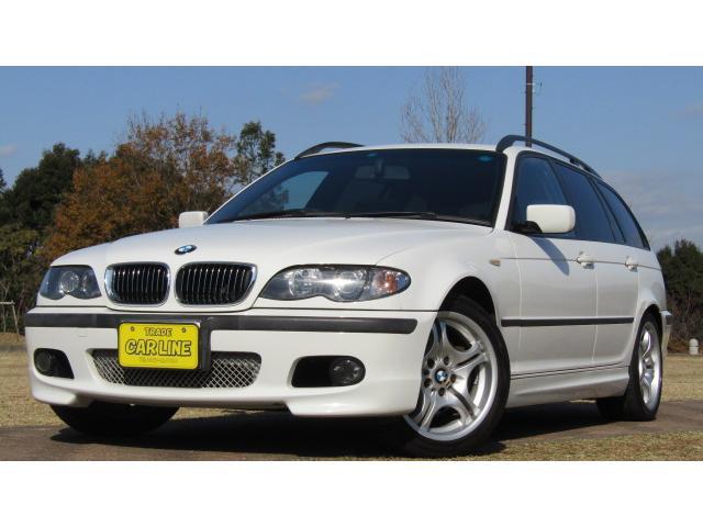 BMW 3シリーズ 325iツーリング Mスポーツパッケージ 純正デッキCD ETC アルミ キーレス サンルーフ