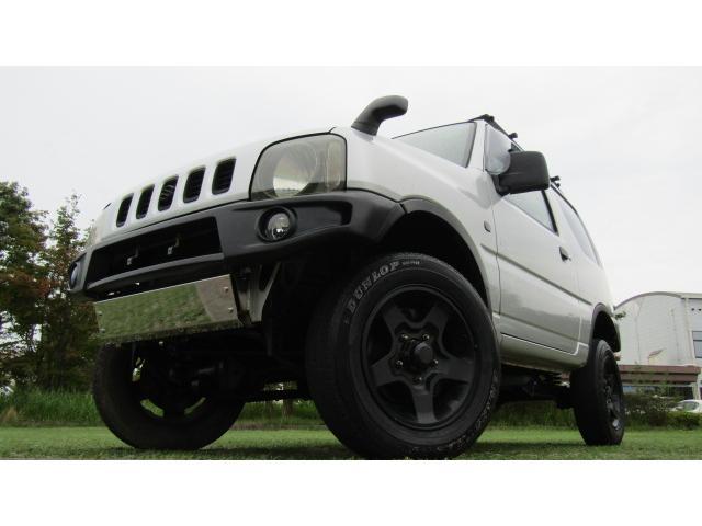 スズキ ジムニー XC 4WD 5MT 社外バンパー リフトアップ キャリア
