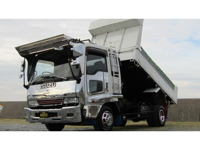 いすゞ  4tダンプ 7.1ディーゼル コボレーン 6MT