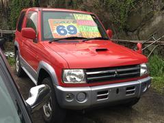 パジェロミニVR ターボ 4WD AT キーレス CD アルミホイール