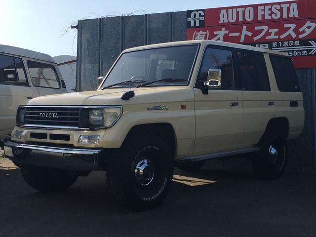 トヨタ 4ナンバー登録 ナローボディ CDオーディオ 4WD