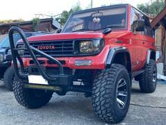 ランドクルーザープラドSXワイド ディーゼルターボ 4WD キーレス アルミ