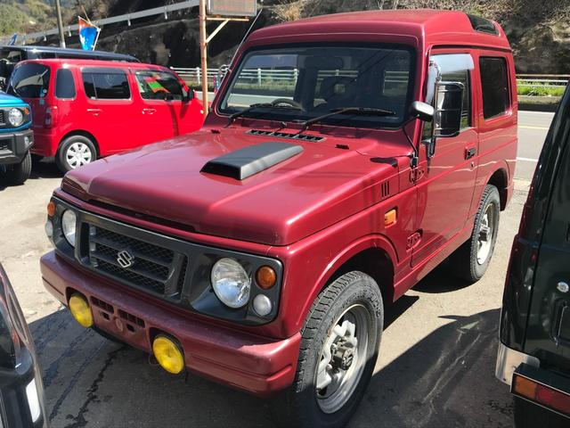 YC パノラミックルーフ 5速MT 4WD ターボ CD(1枚目)