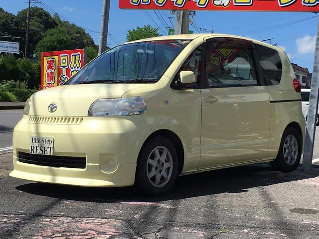 トヨタ 130i エアロ付 左パワースライドドア キーレス CD