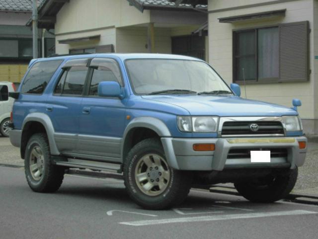 トヨタ SSR-X サンルーフ 4WD CD再生 背面T キーレス