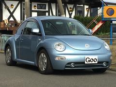 VW ニュービートルコローレ 500台限定車 純正CD キーレス ETC ナビ付