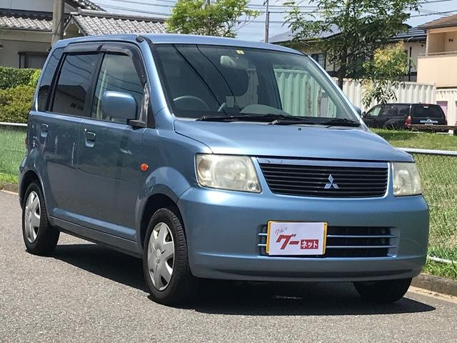 三菱 eKワゴン M キーレス CDオーディオ 革調シートカバー