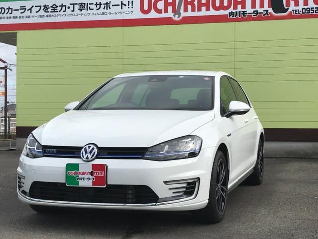 「フォルクスワーゲン」「VW ゴルフGTE」「コンパクトカー」「佐賀県」の中古車