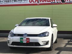 VW ゴルフGTEベースグレード プラグインハイブリッド ナビ フルセグTV