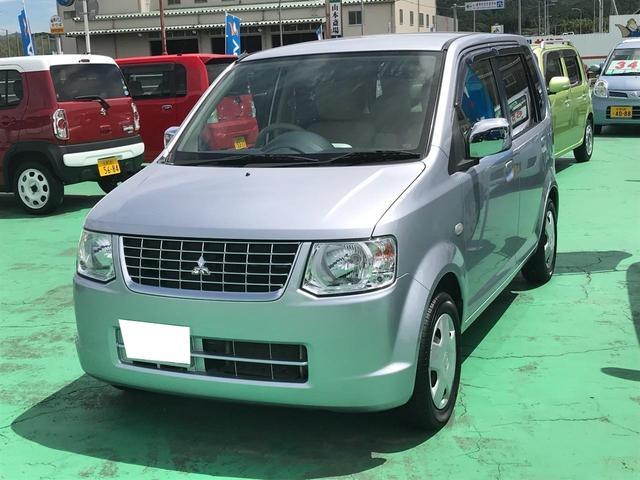 三菱 MX 軽自動車 整備付 インパネAT 保証付 エアコン