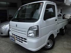 キャリイトラックKC 4WD 5速MT エアコン パワステ 両席エアバッグ