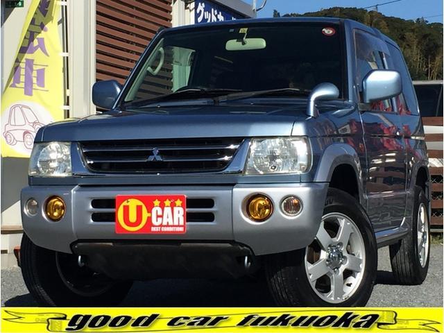 三菱 パジェロミニ XR 全国対応保証付き 4WD ユーザー買取車 純正アルミ シートカバー ETC キーレス