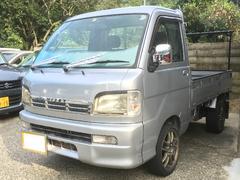 ハイゼットトラック4WD 社外ナビ ウーハー エアコン パワステ 社外ハンドル