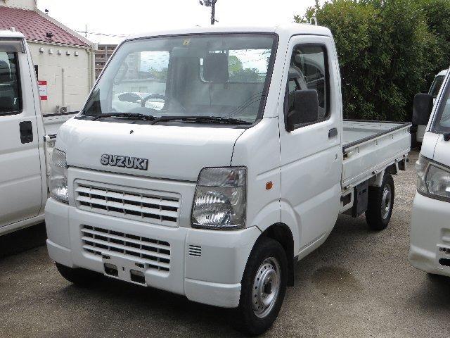 スズキ トラック660KCエアコンパワステ3方開 4WD