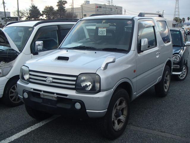 マツダ XC 4WD ターボ ETC 純正アルミ 背面タイヤ