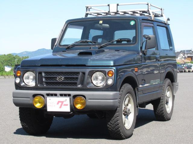 スズキ XF 4WD ルーフキャリア 純正16AW 背面タイヤ