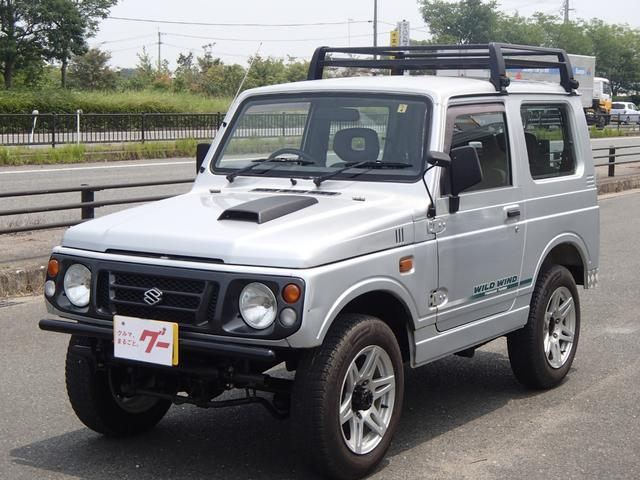 スズキ ワイルドウインド 5速マニュアル 4WD ルーフキャリア