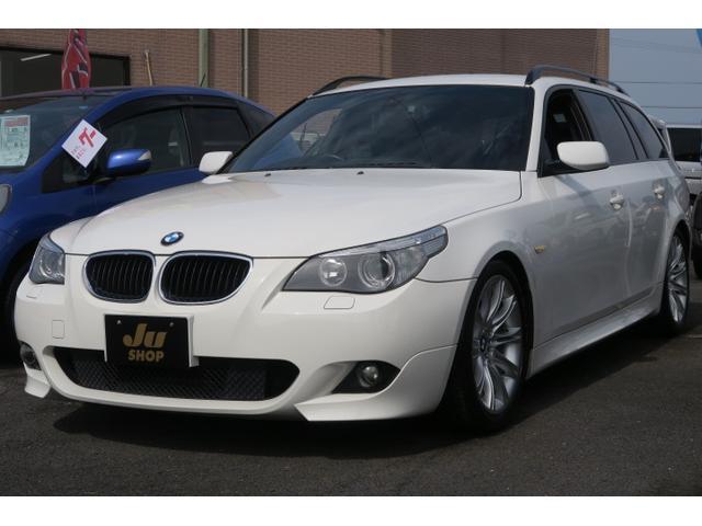 BMW 525i 本革パワーシート ETC キーレス ナビ 記録簿