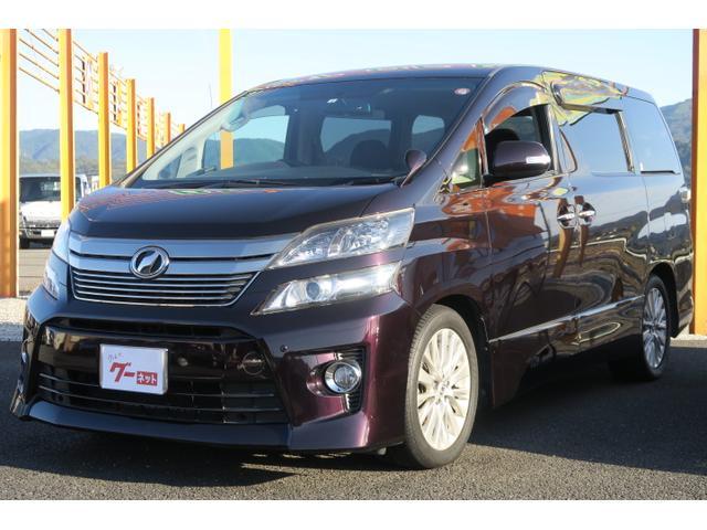 トヨタ ヴェルファイア 2.4Z 両側電動スライドドア HDDナビ TV オートエアコン 純正18AW スマートキー