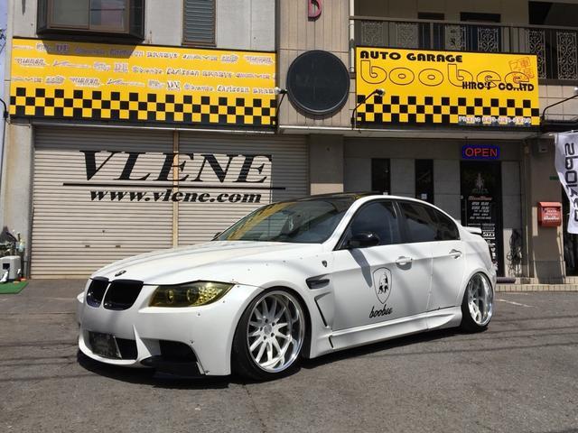 BMW 325i ハイラインパッケージ ブリスターフェンダー