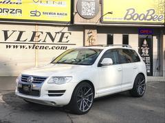 VW トゥアレグV6 SPORZA22アルミ 車高調 サンルーフ ナビTV