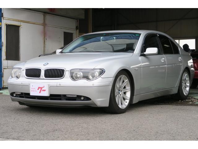 BMW 7シリーズ 745i 本革パワーシート コーナーセンサー ...