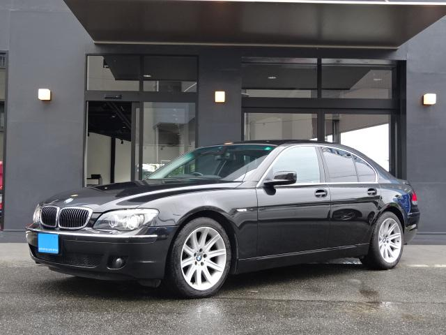 BMW 740iコンフォートプラスPKG黒本革サンルーフHDDナビ