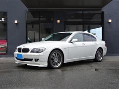 BMW740i サンルーフ 黒革 HID ウッドパネル 20AW