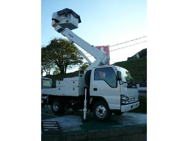 いすゞ エルフトラック 高所作業車アイチSH09A 9.7M 電工仕様