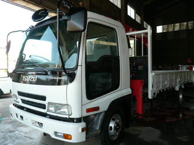 いすゞ ユニック3段クレーン 同年式 積載2.9t