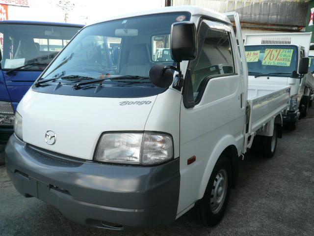 マツダ 1t積 4WD 平ボディ リヤWタイヤ