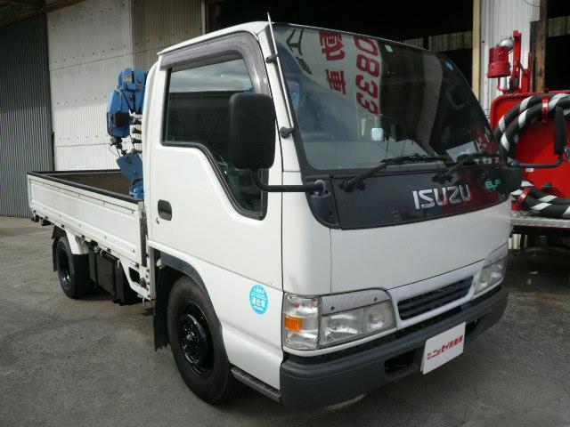 いすゞ 4段簡易クレーンリモコン0.995t吊1.75t積 ETC付