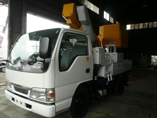 いすゞ 高所作業車アイチSH09A 電工仕様 アワメーター1400H